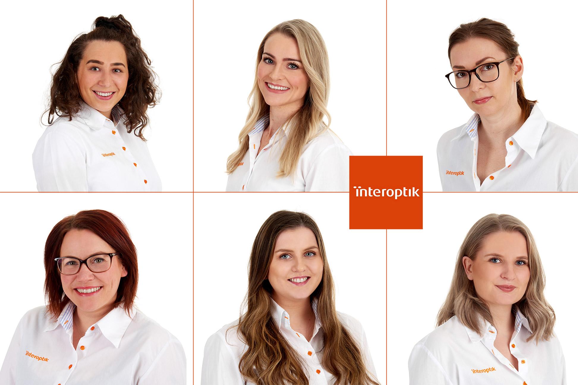 Interoptik - portrett av ansatte
