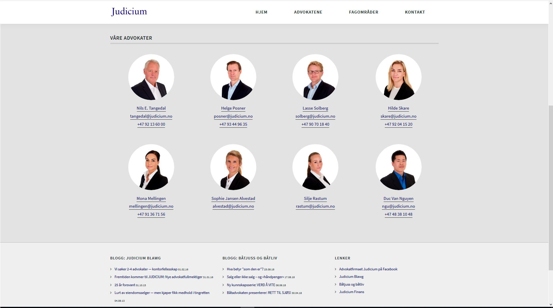 Advokatfirmaet Judicium