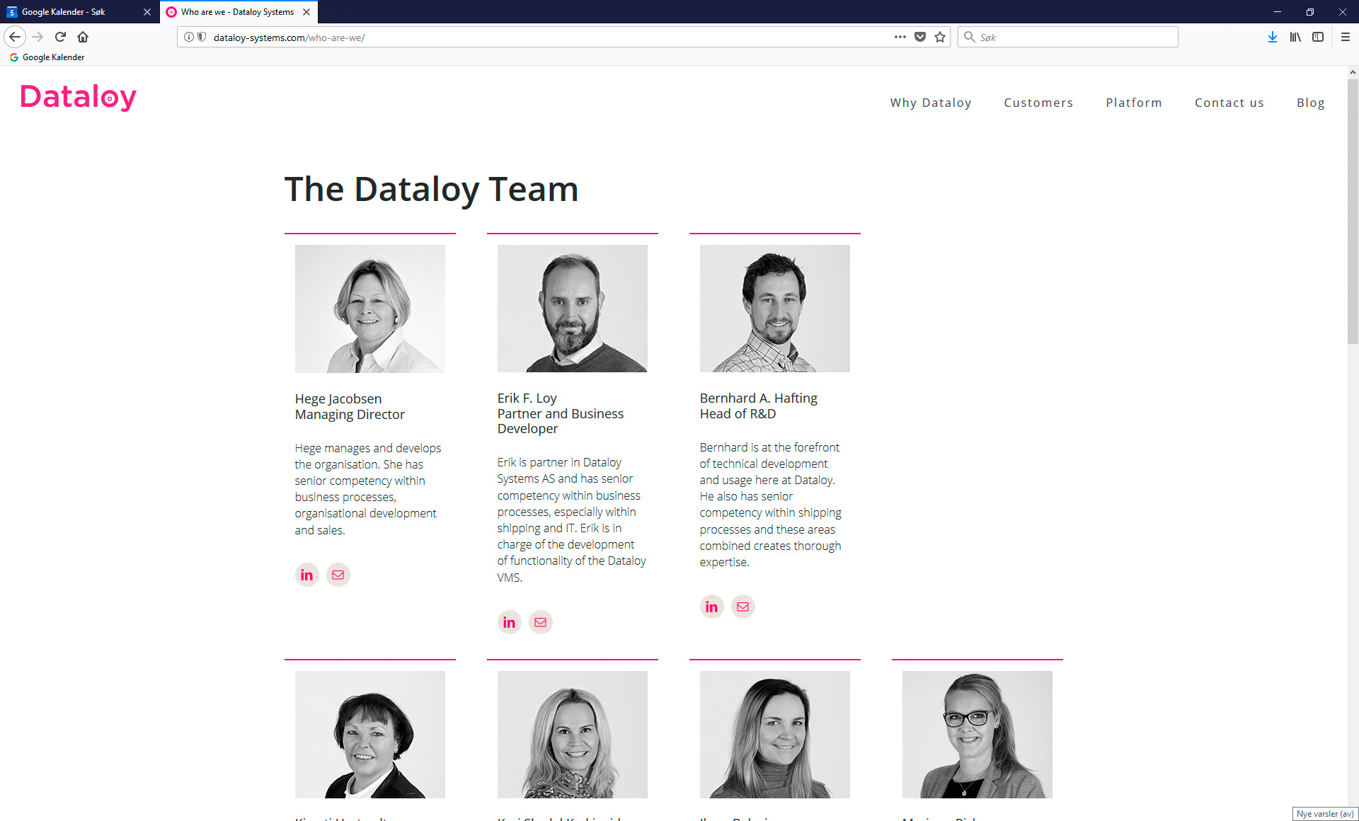 Nye profilbilder til bedriften?