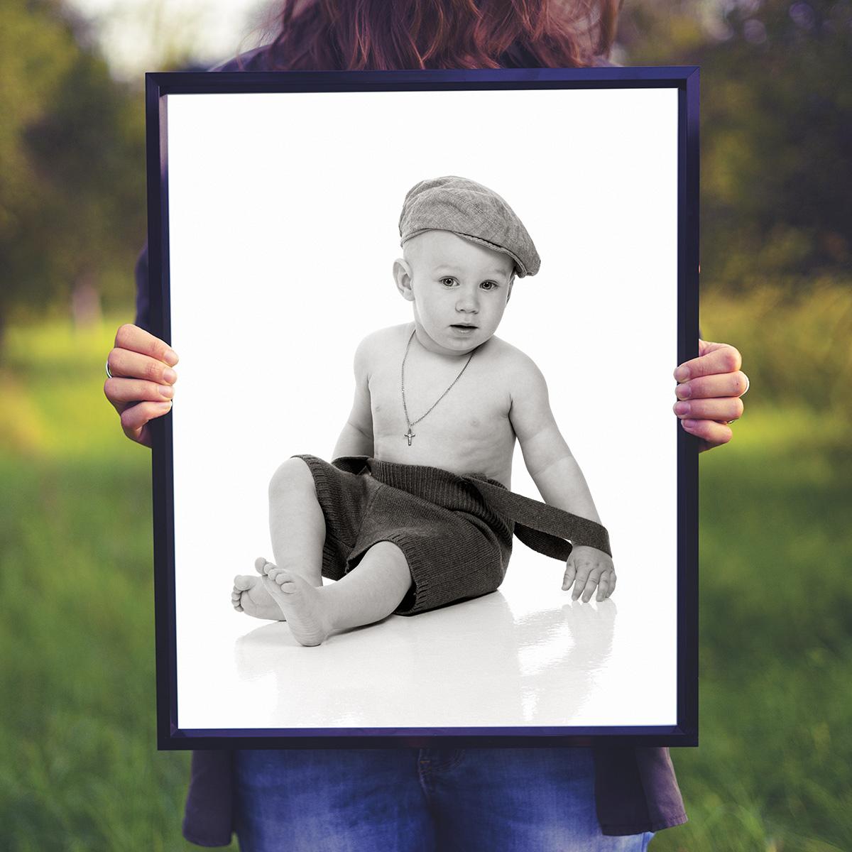 Nyhet! Gratis babyfotografering
